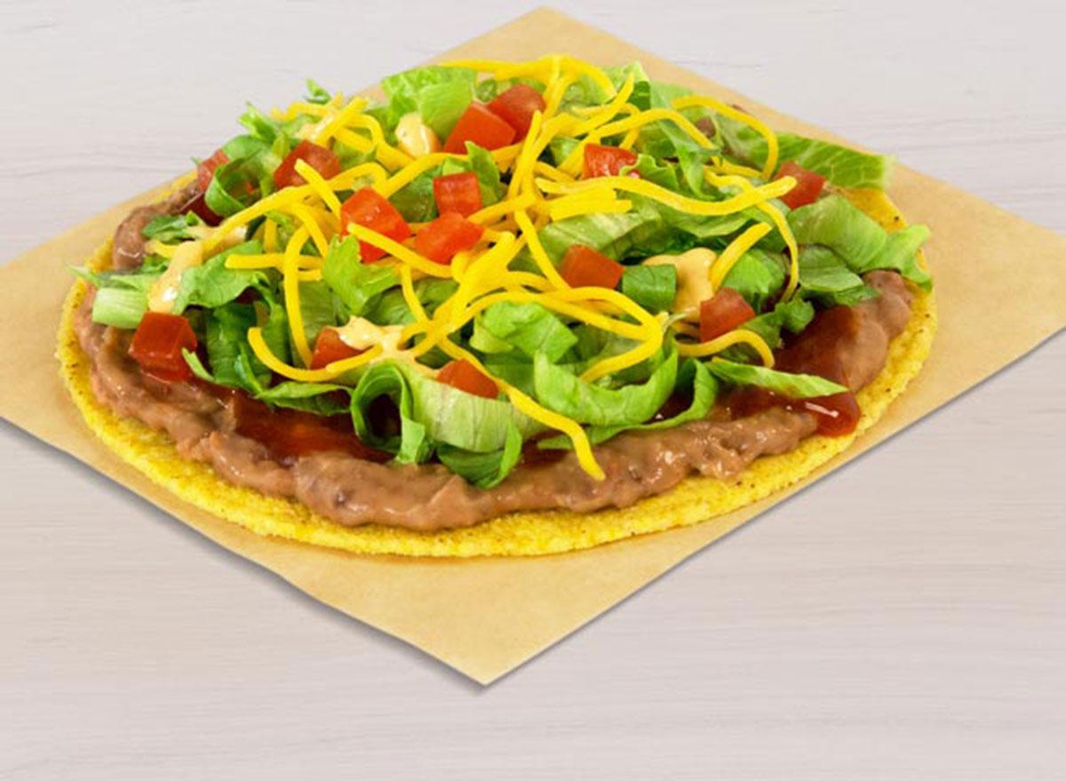 taco bell spicy tostada best