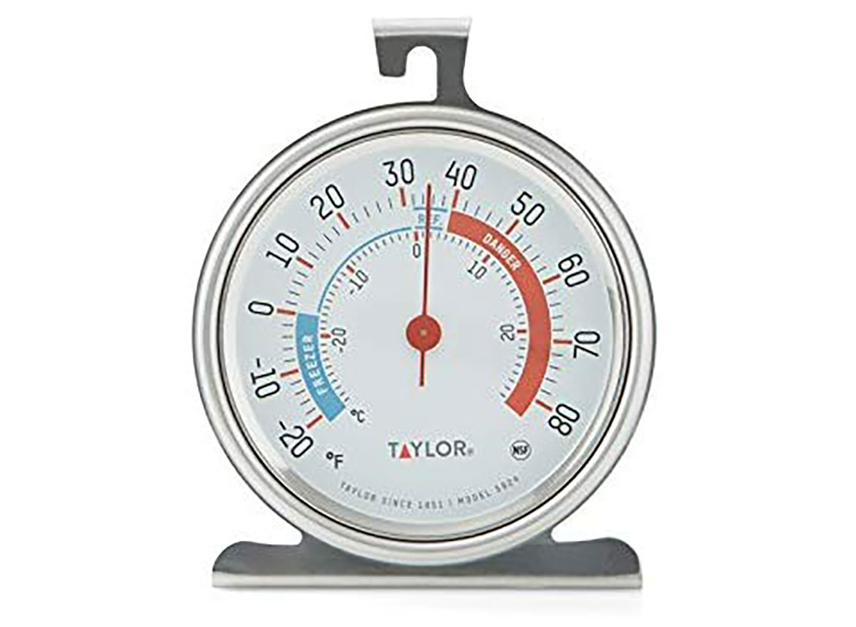 taylor thermometor for fridge and freezer