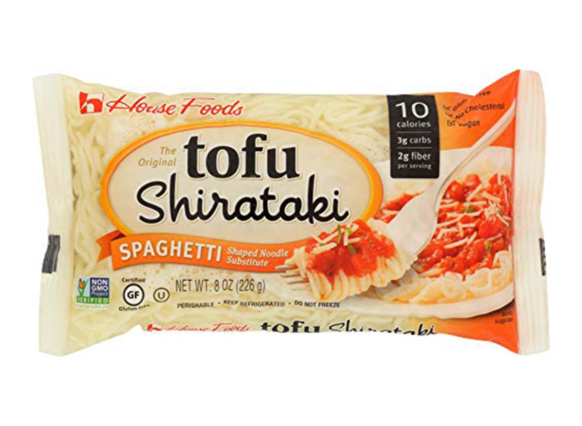 tofu shirataki noodles spaghetti shape