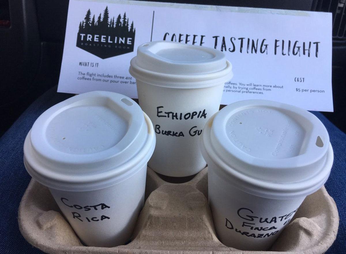 treeline coffee roasters tasting