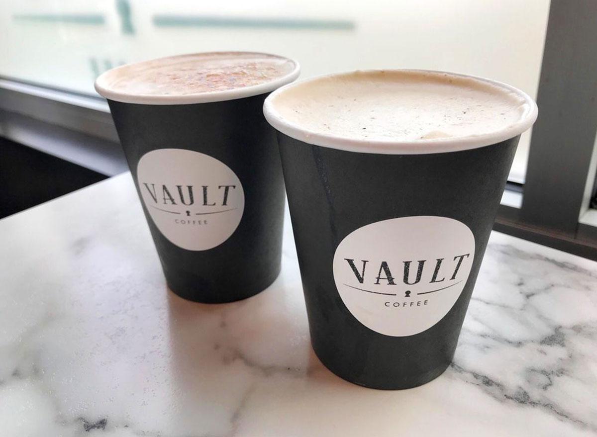 vault coffee cups