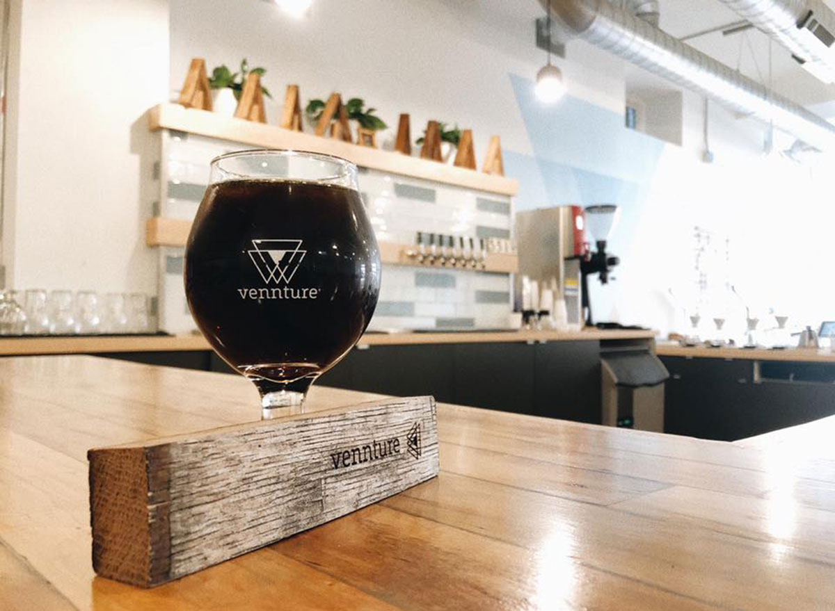 vennture brew cold brew on counter