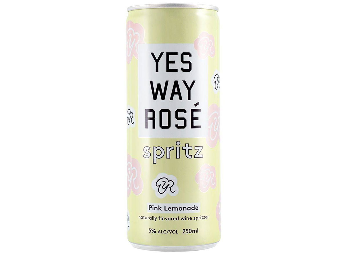 Yes way rose pink lemonade
