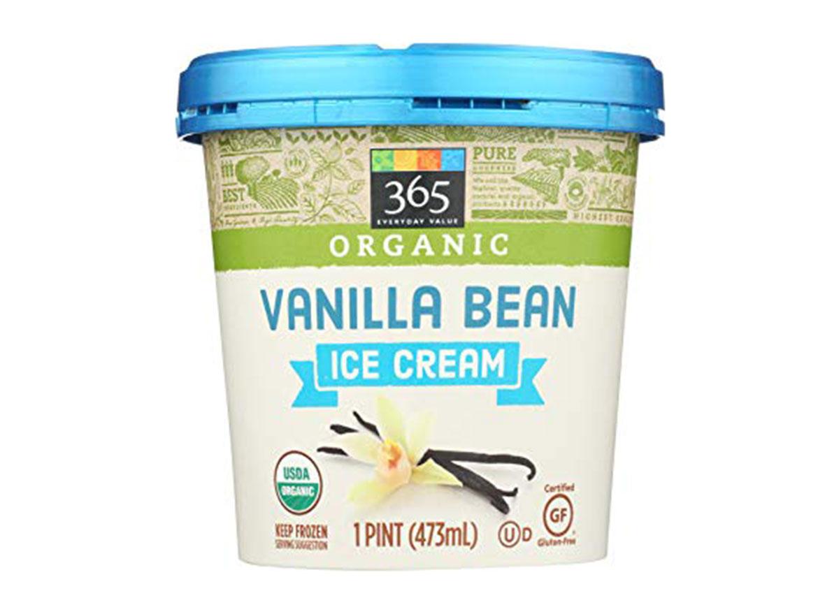 365 organic vanilla bean ice cream pint