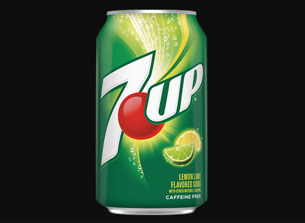 7 up original soda can