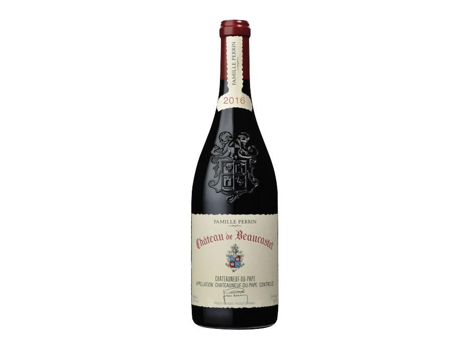 CHATEAU DE BEAUCASTEL CHATEAUNEUF-DU-PAPE ROUGE 2016 bottle
