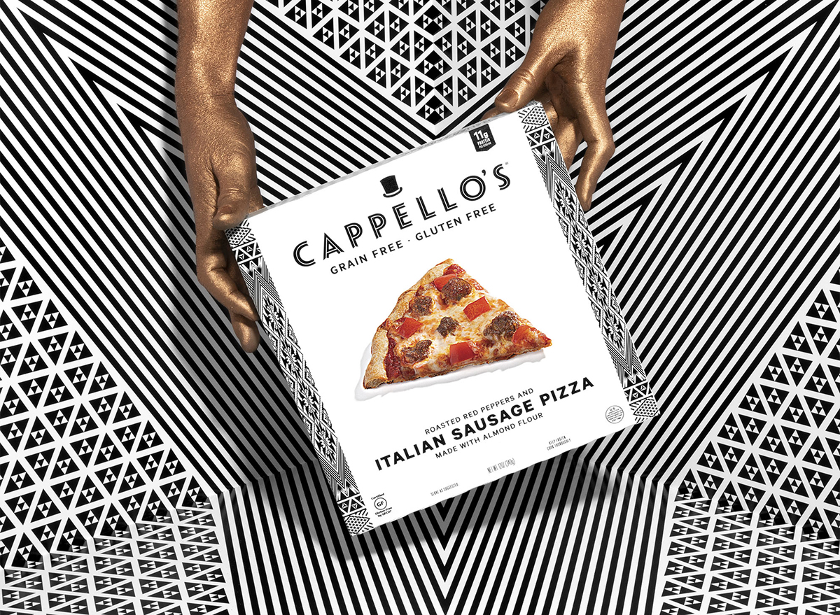 frozen pizza from cappello's