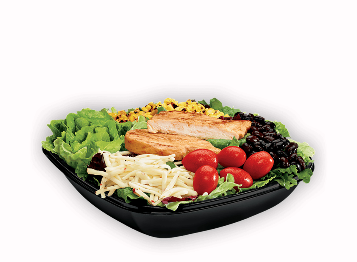 southwest chicken salad from jack in the box