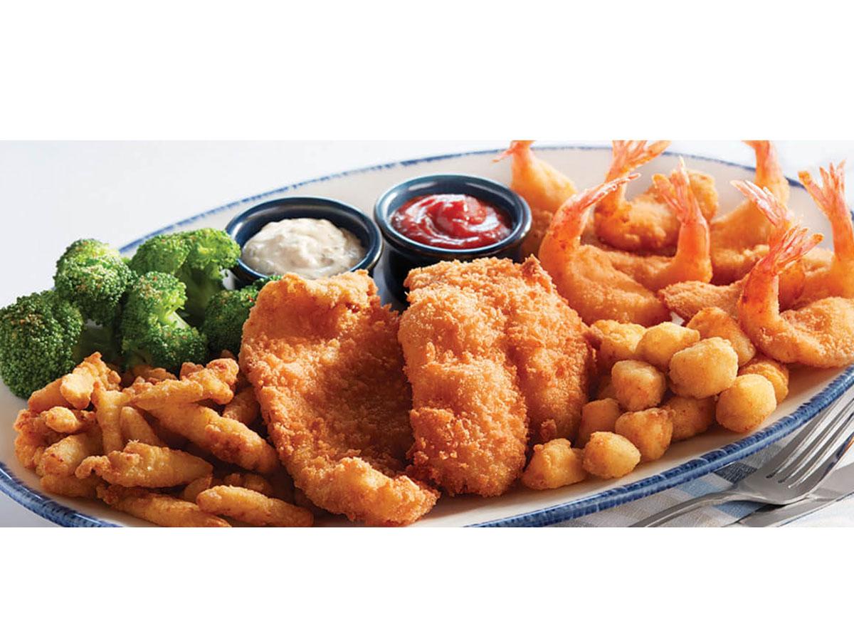 admirals feast red lobster fish shrimp broccoli sides