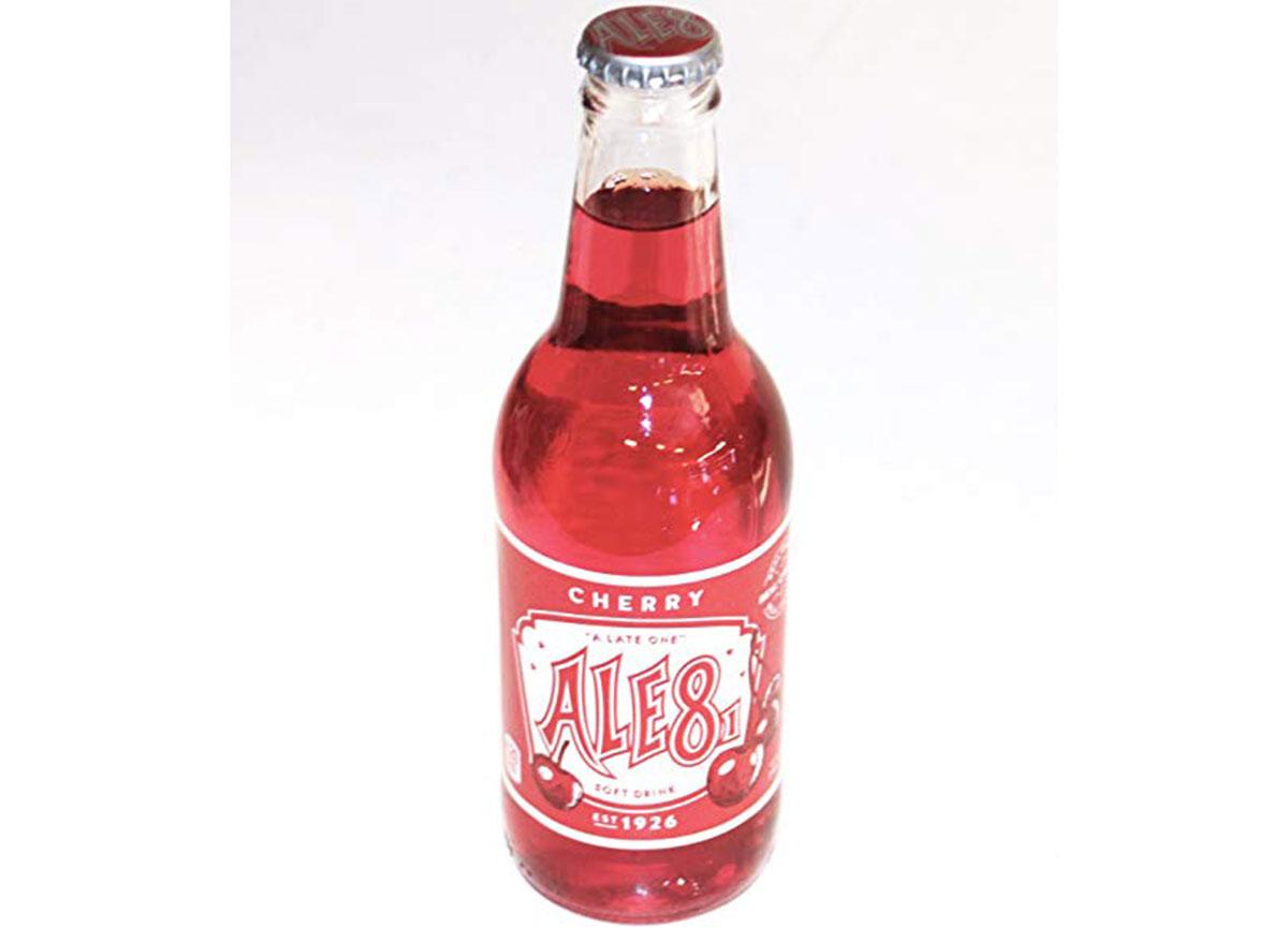 ale 8 cherry soda bottle
