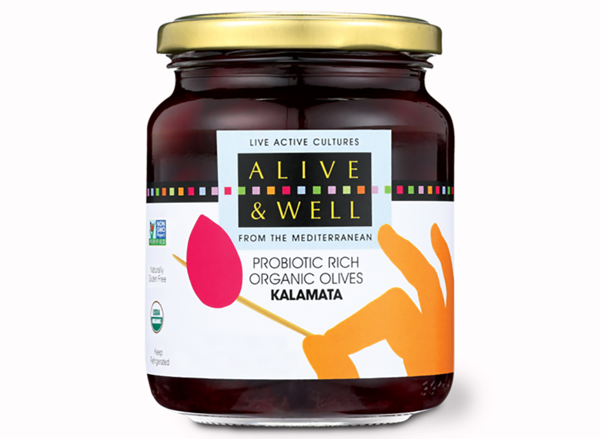 probiotic-rich olives from alive and well