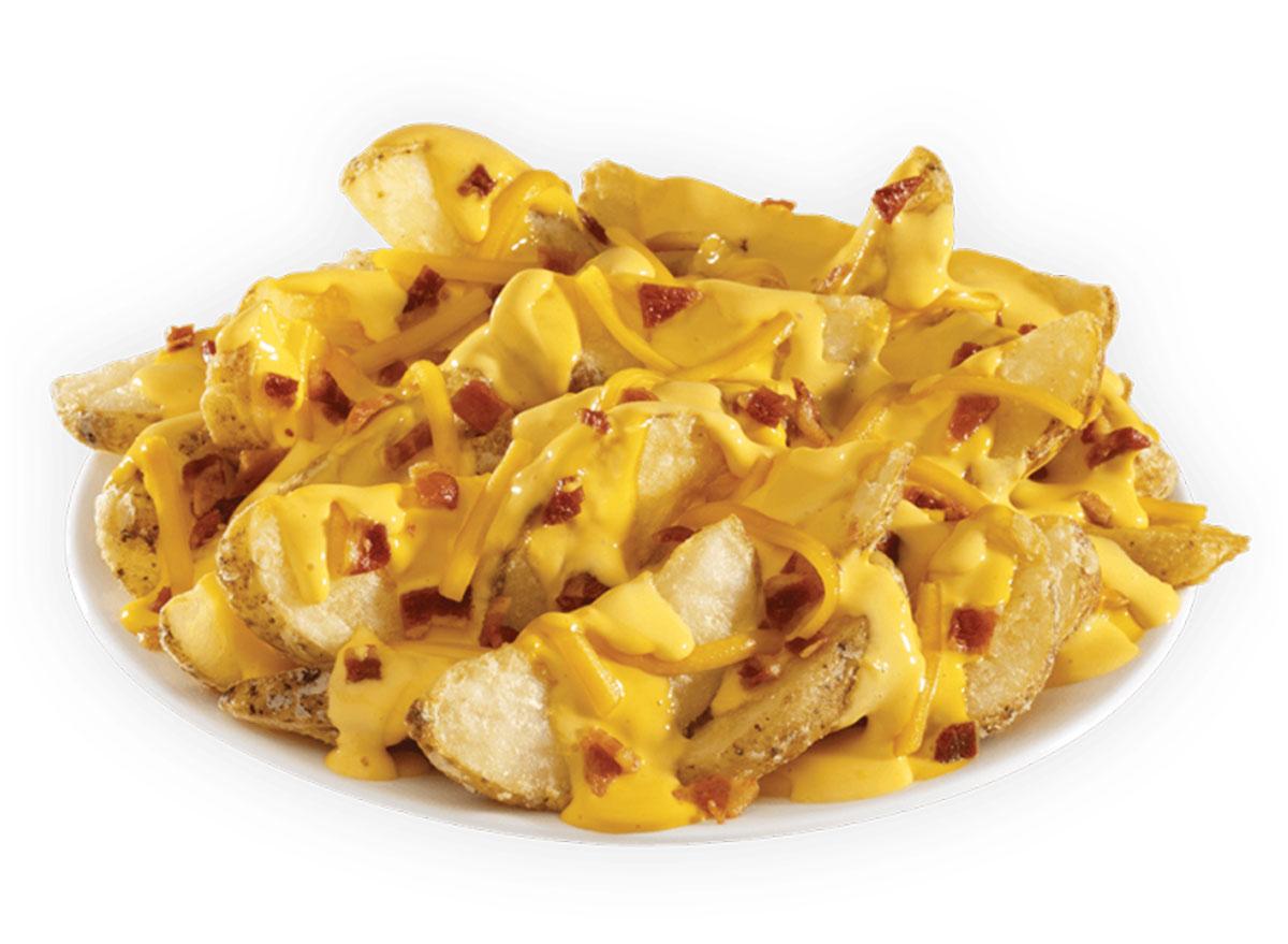 bacon cheddar potato wedges