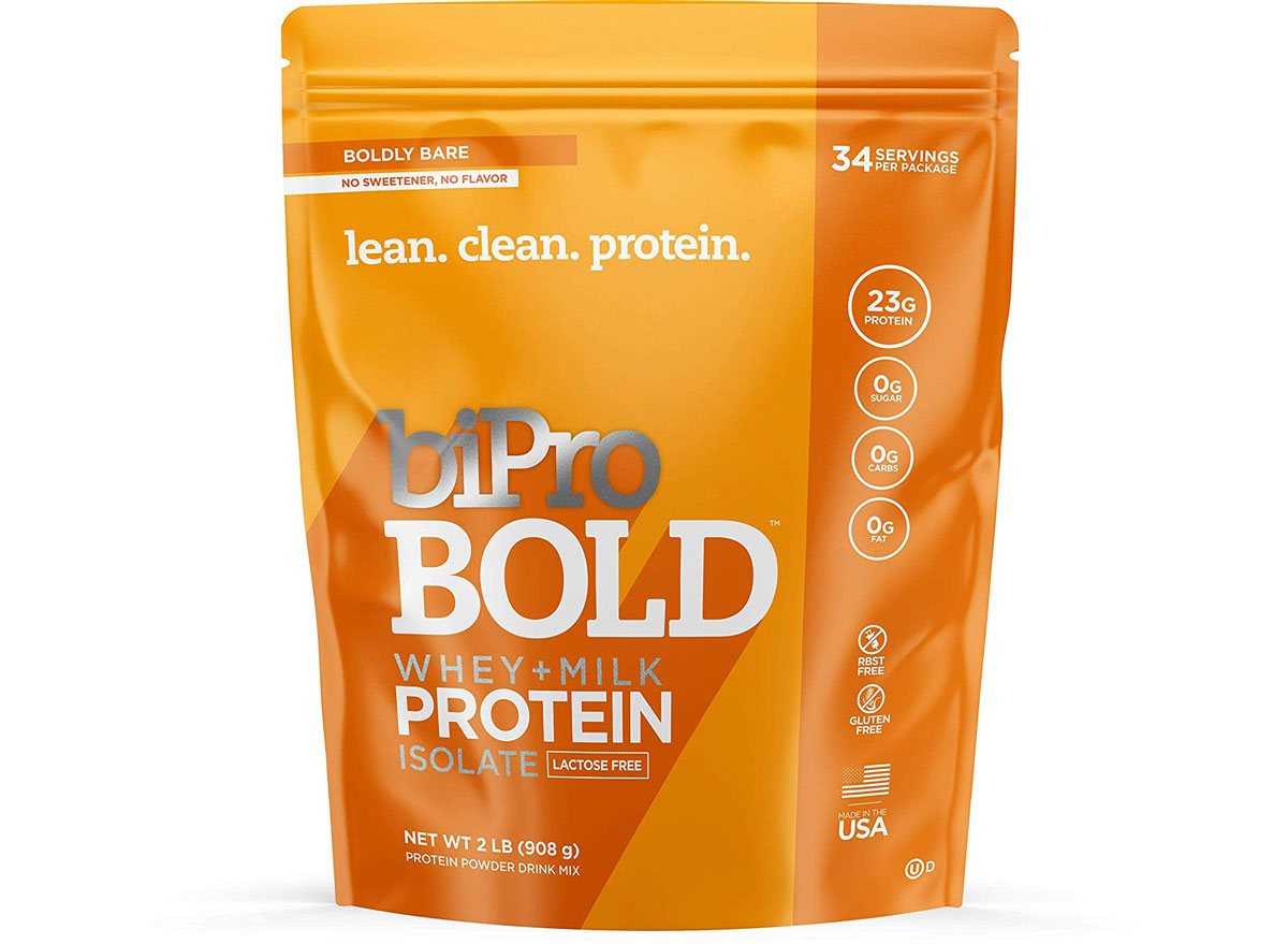 bipro bold whey milk protein isolate protein powder