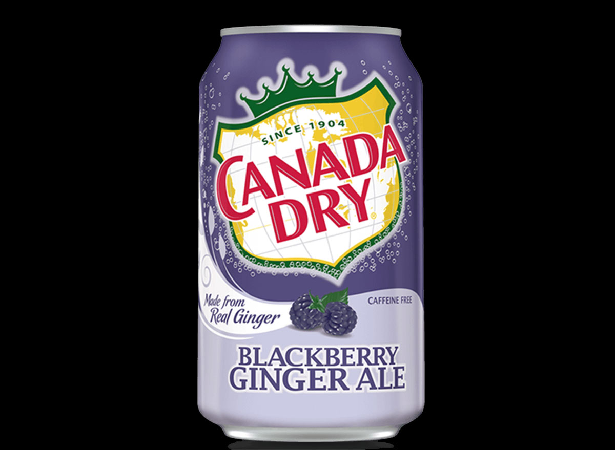 canada dry blackberry ginger ale can