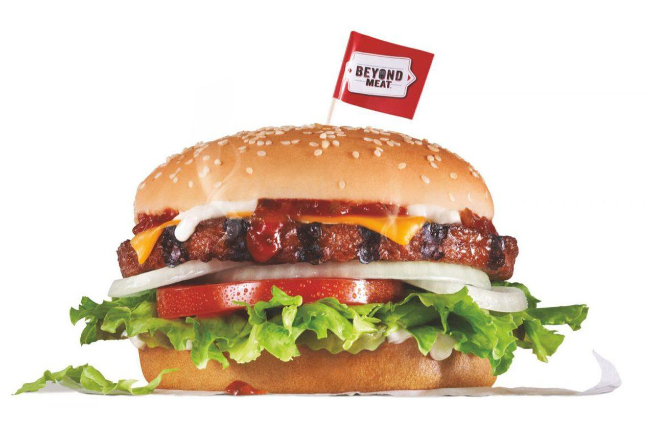 Carls jr the beyond famous star plant based fast food