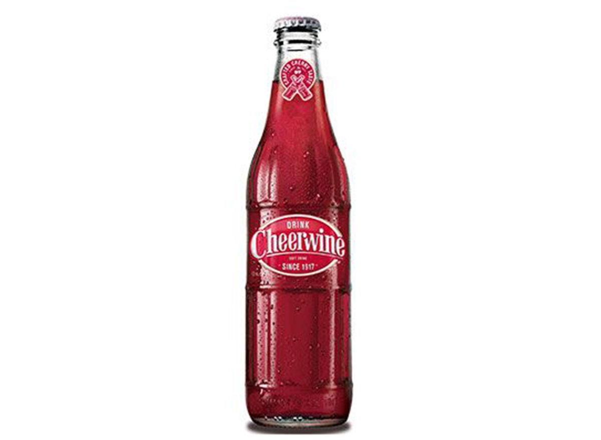 cheerwine soda bottle