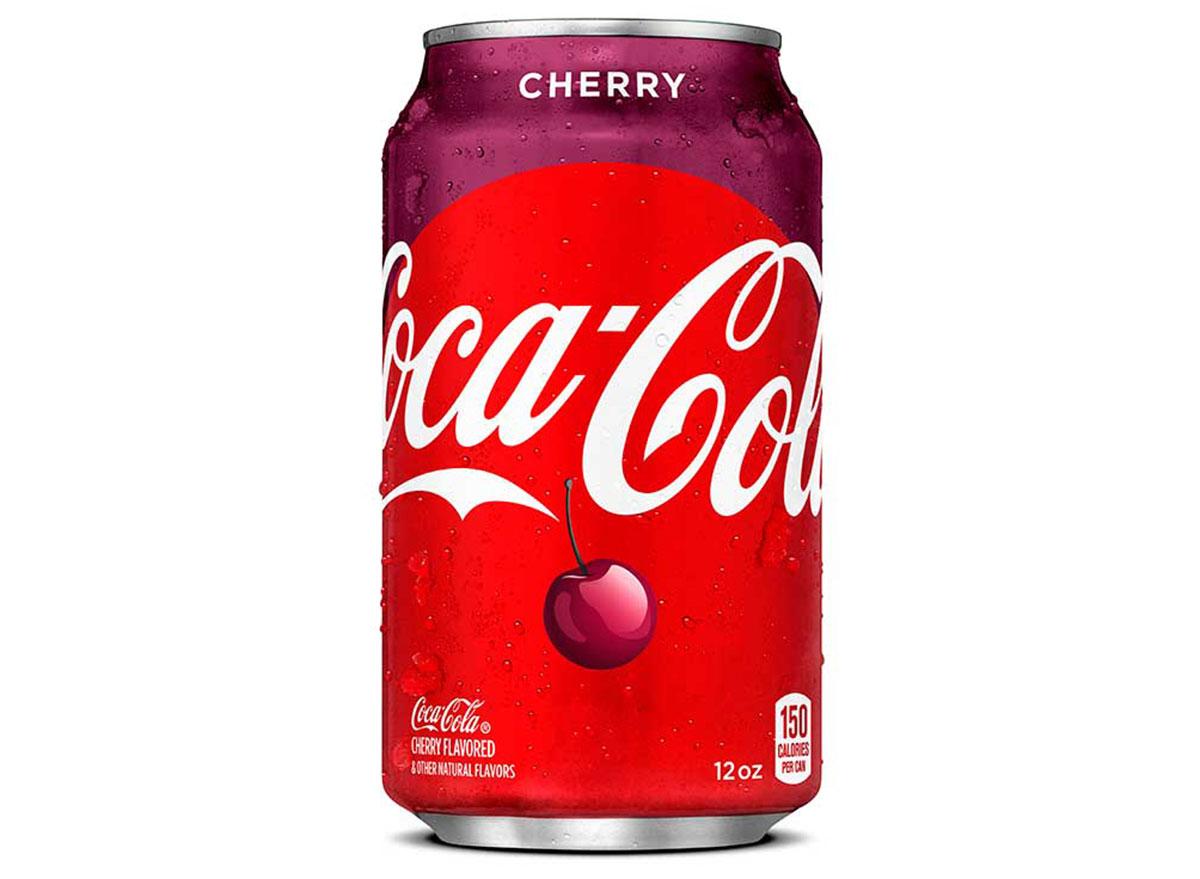 coca cola cherry can