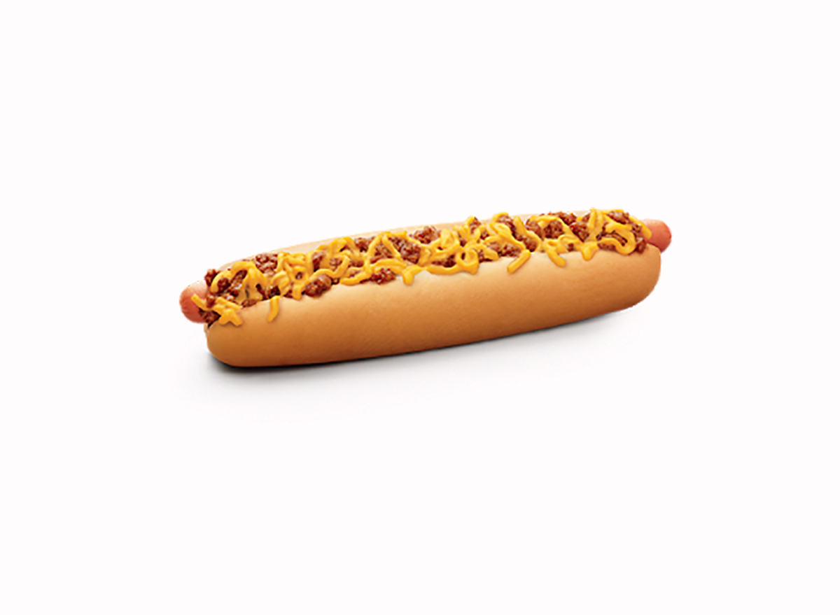 footlong coney dog from sonic