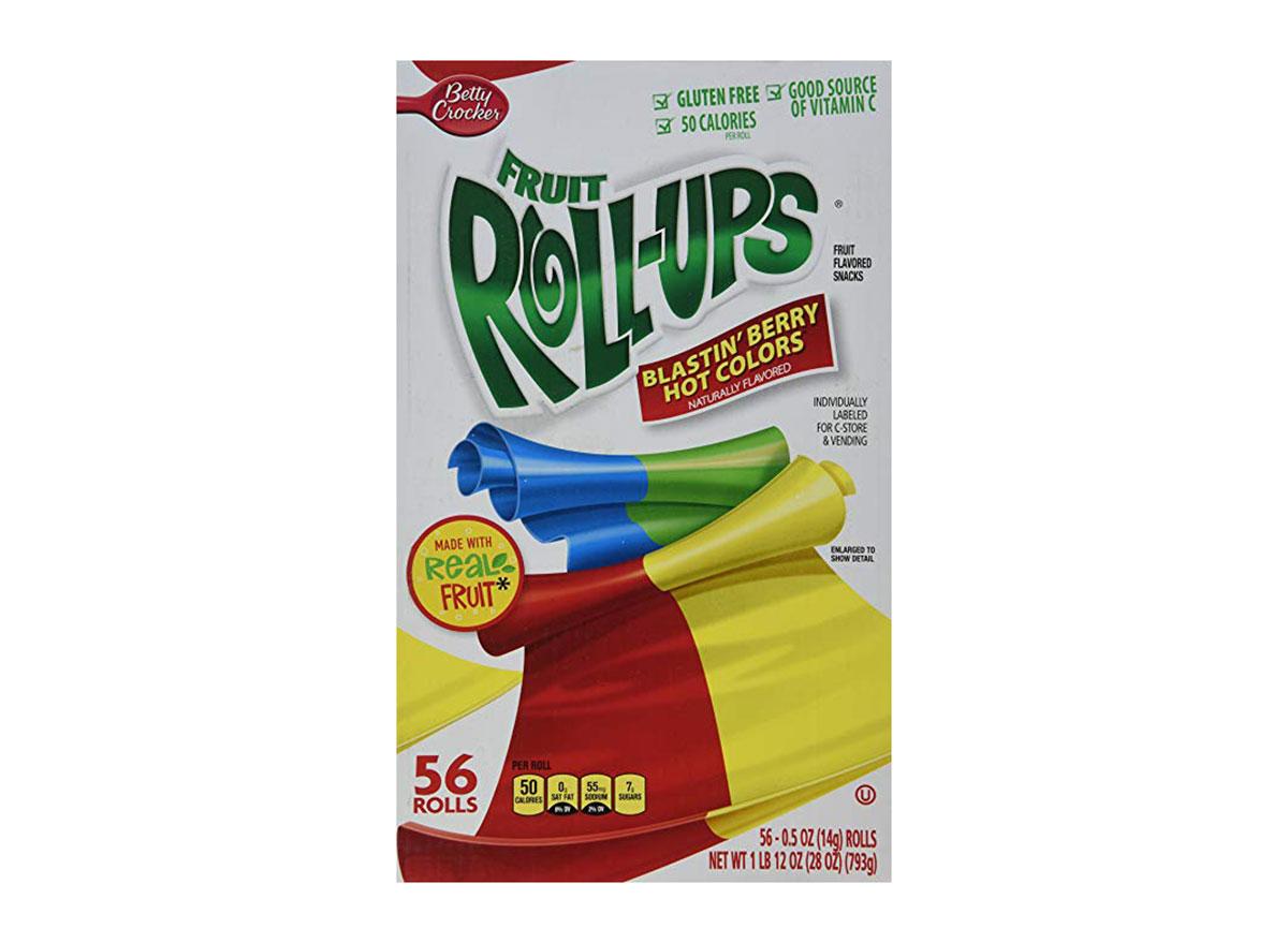 fruit roll ups blastin' berry box