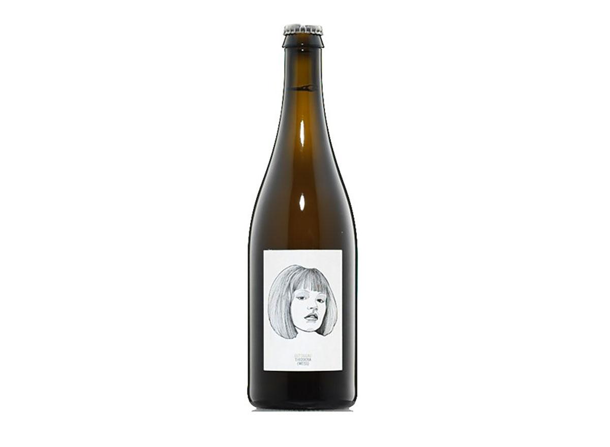 bottle of weinland theodora natural wine