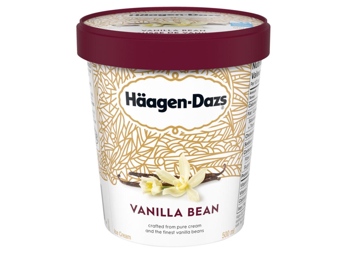 haagen dazs vanilla bean ice cream pint