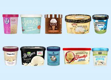 vanilla ice cream graphic
