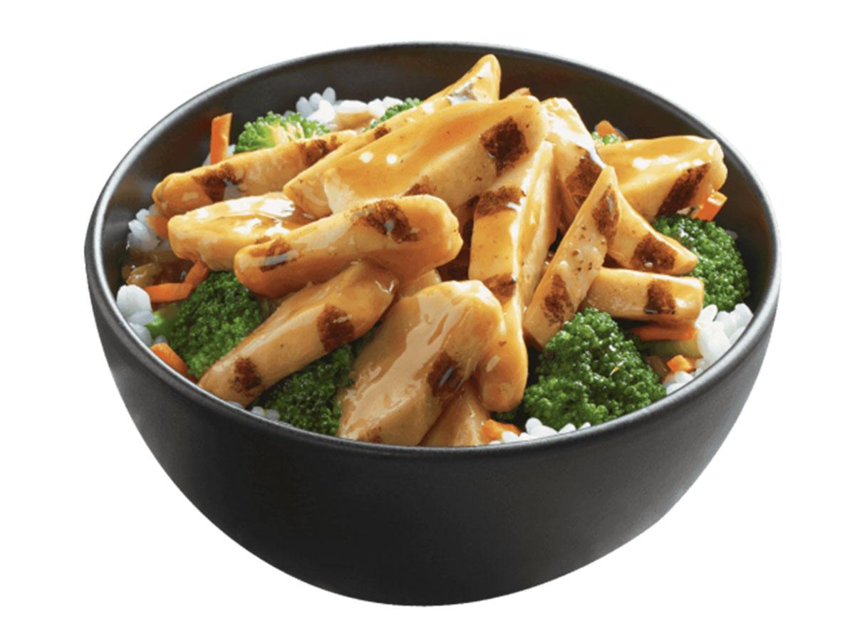 jacks chicken teriyaki bowl