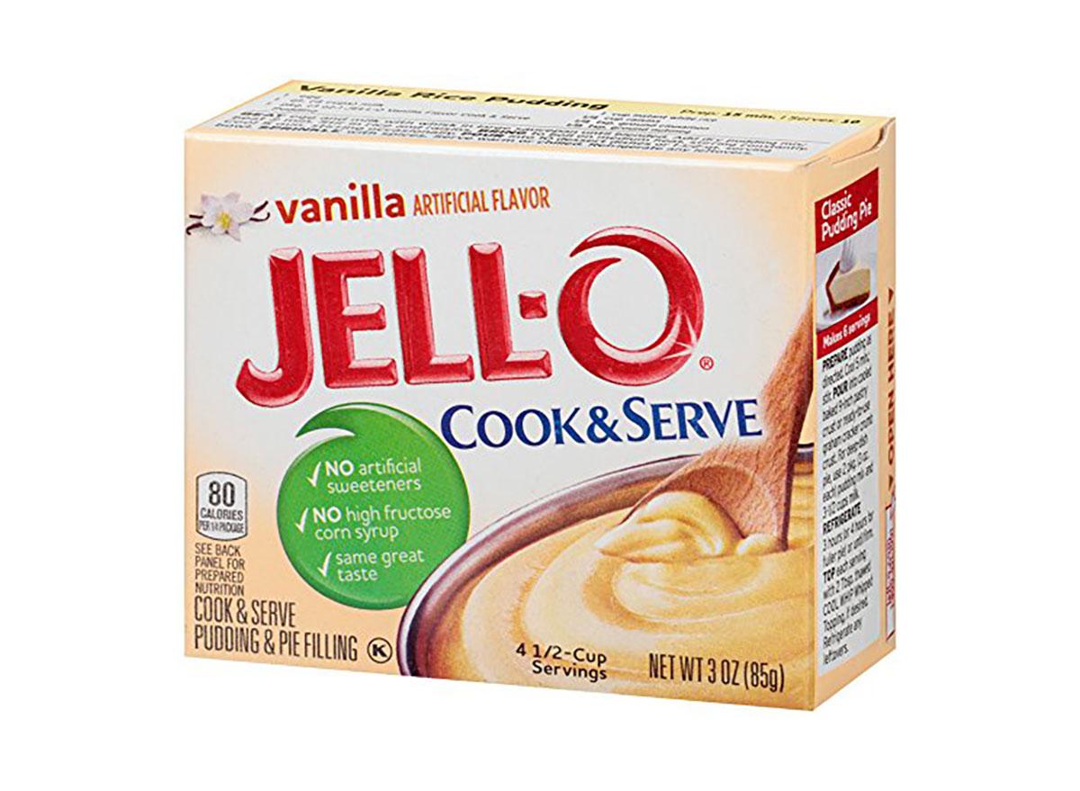 vanilla jello cook and serve