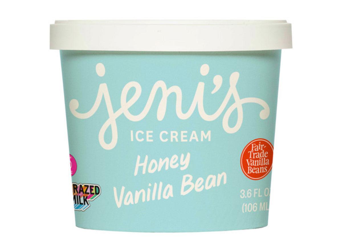jenis honey vanilla bean ice cream tub