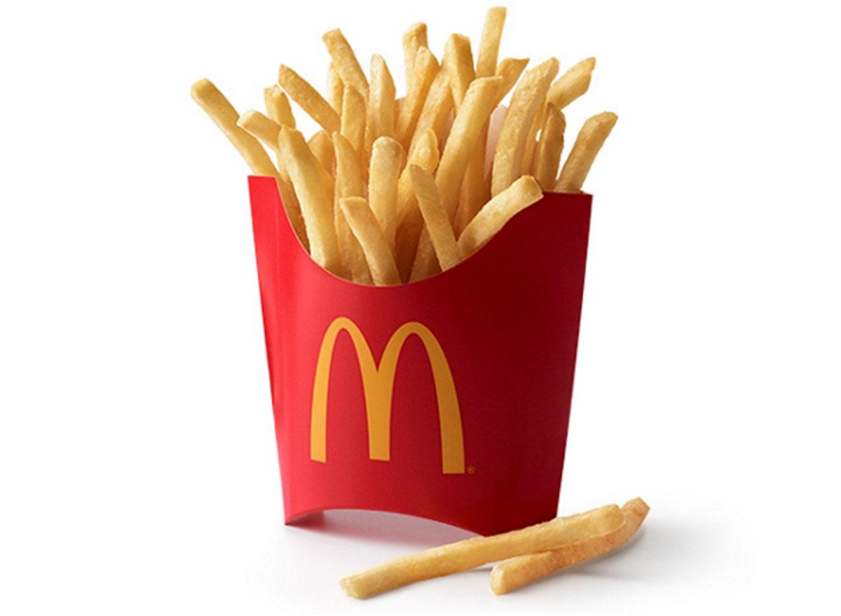 mcdonalds large fries