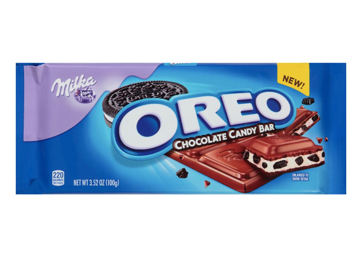 milka chocolate oreo bar