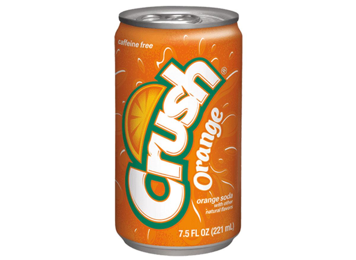 orange crush soda can