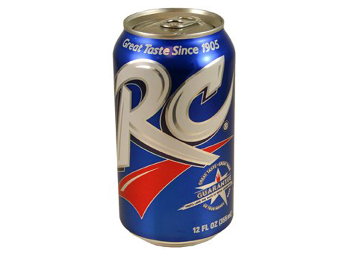 rc cola soda can