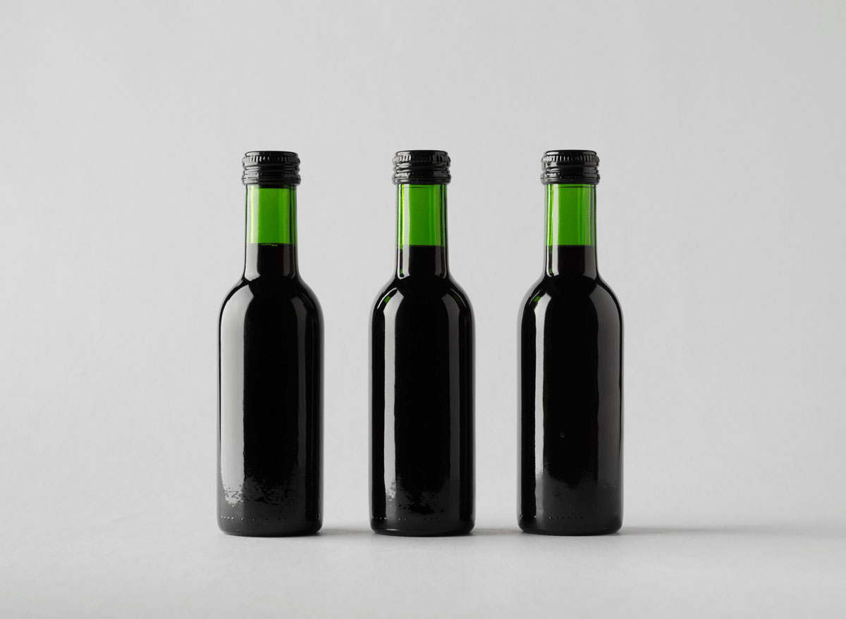 small wine bottles to preserve
