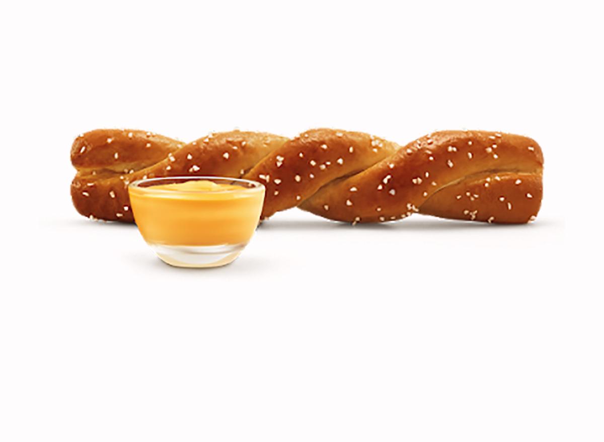 soft pretzel twist from Sonic