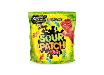 bag of sour patch kids gummy candy