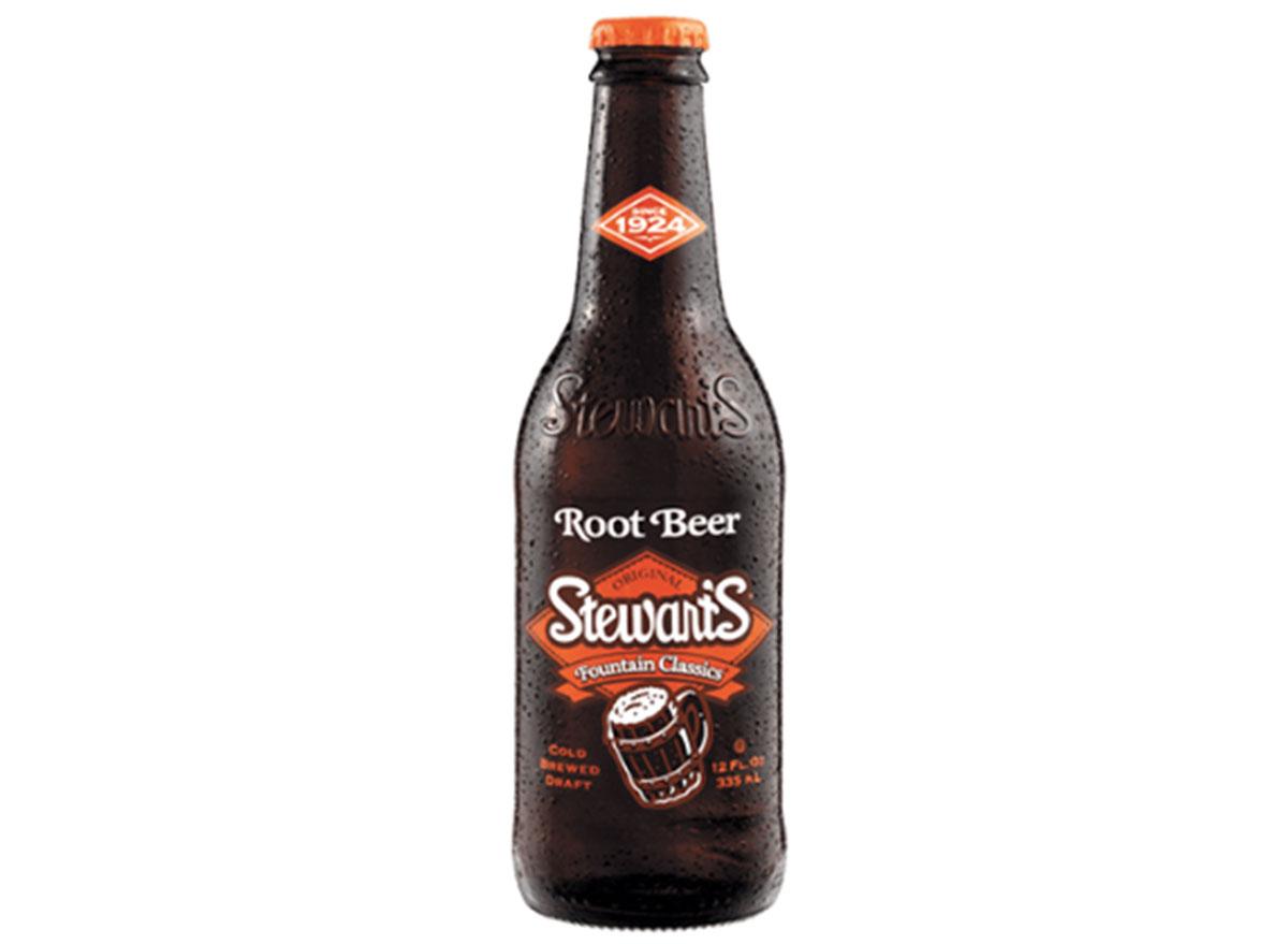 stewarts root beer bottle