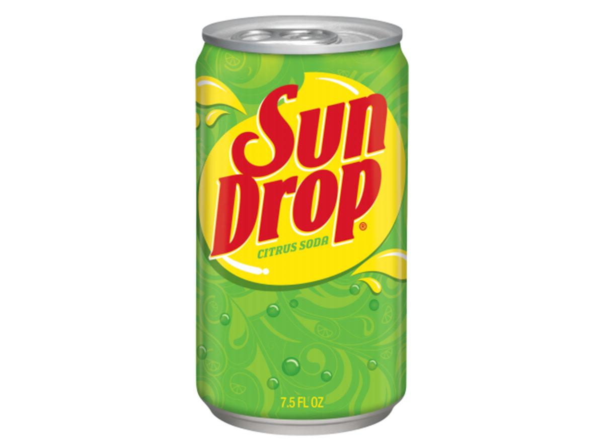 sun drop soda can
