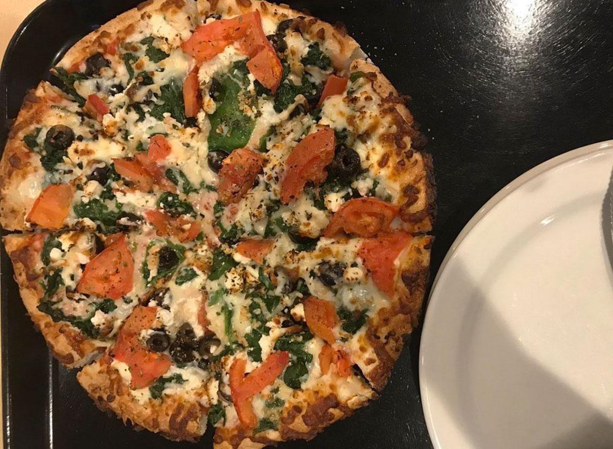 tilton house of pizza greek pizza