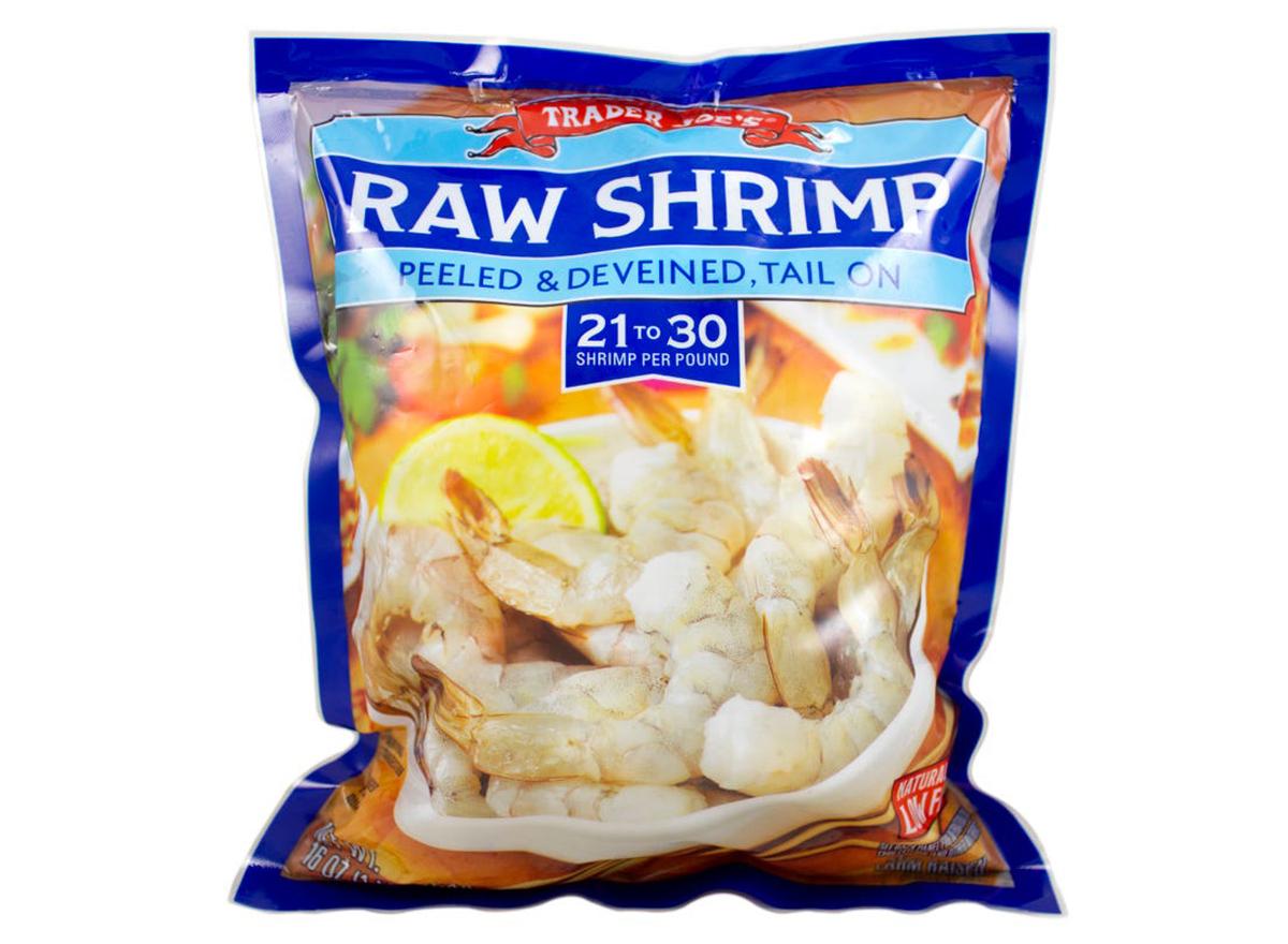 Trader joes raw shrimp
