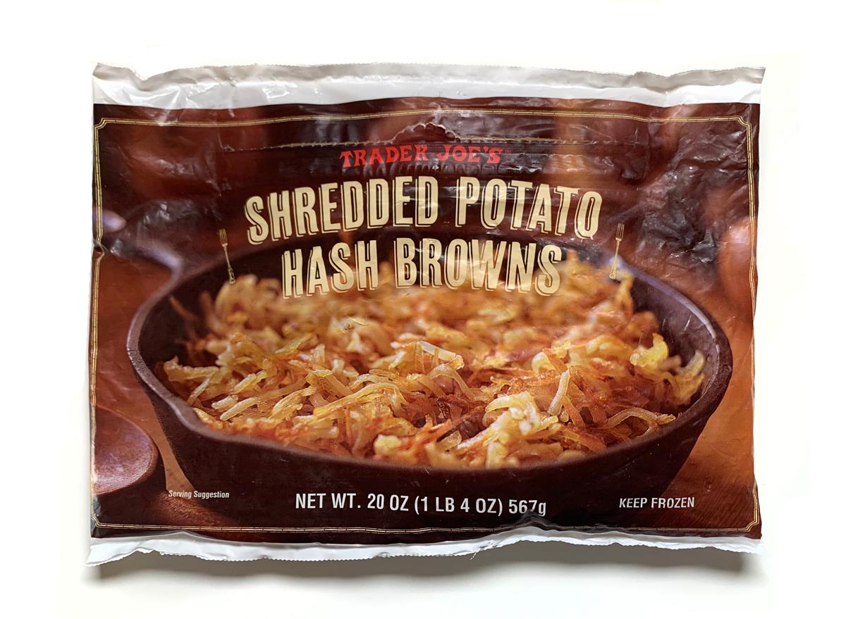 Trader joes shredded potato hash browns