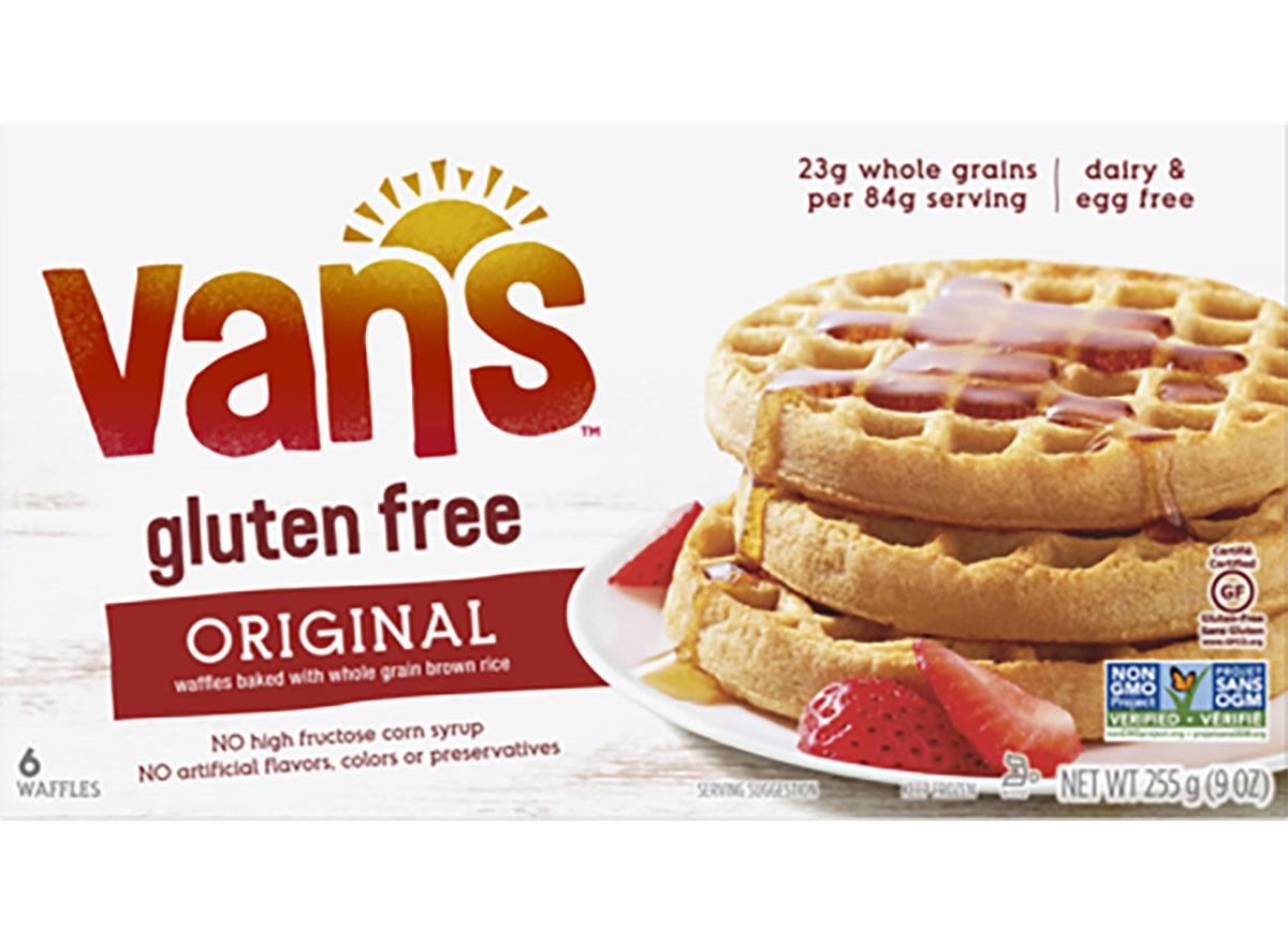 vans gluten free original toaster waffles