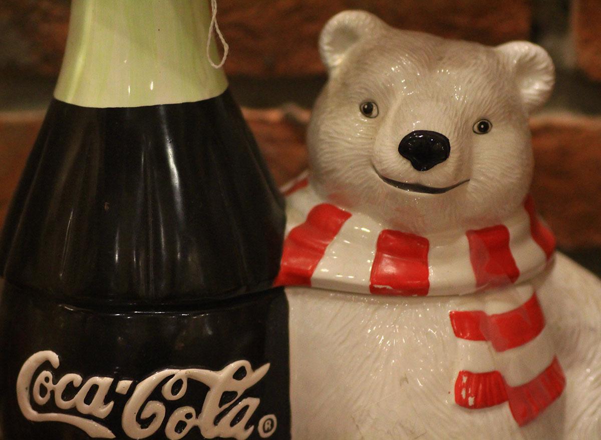 vintage coke polar bear