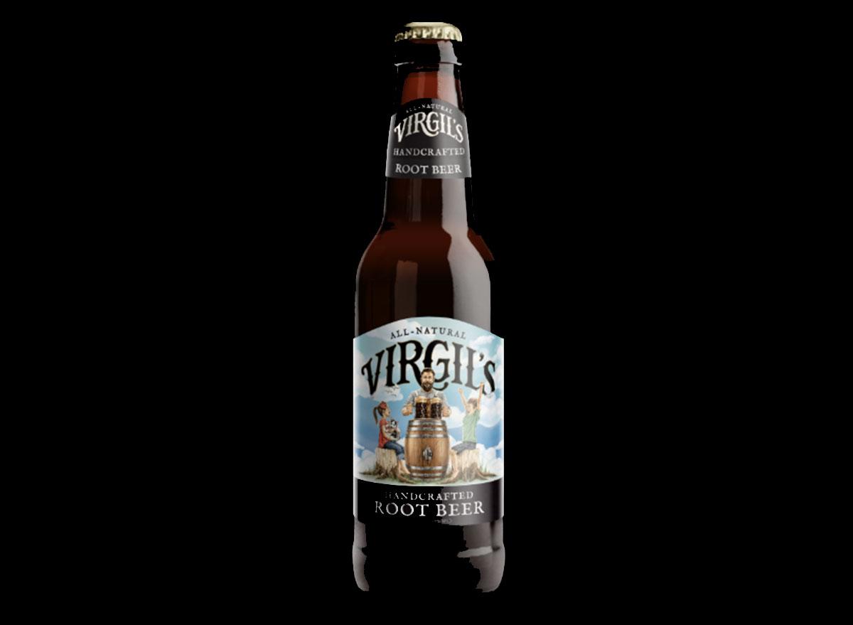 virgils handcrafted root beer bottle