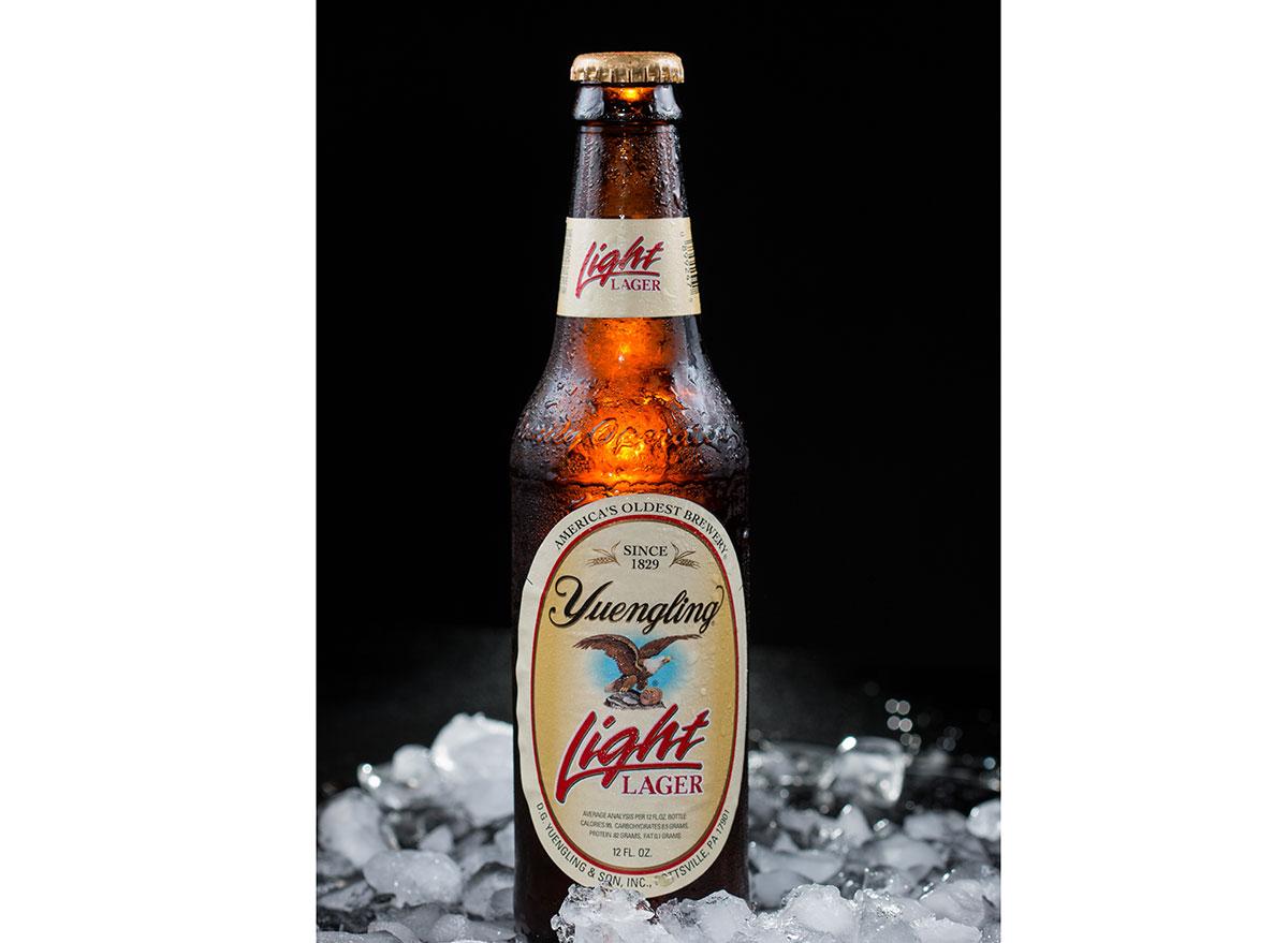 yuengling light lager bottle