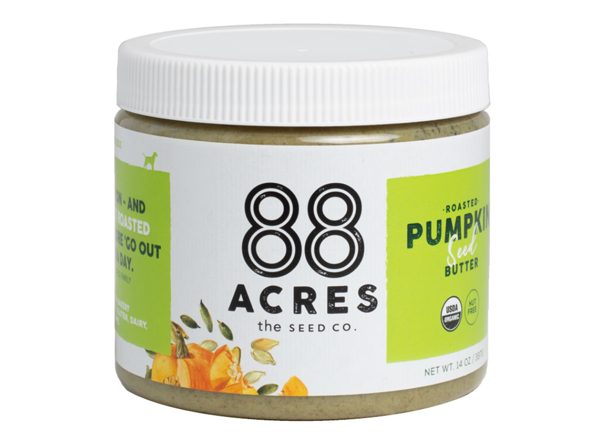 88 acres the seed co pumpkin seed butter jar