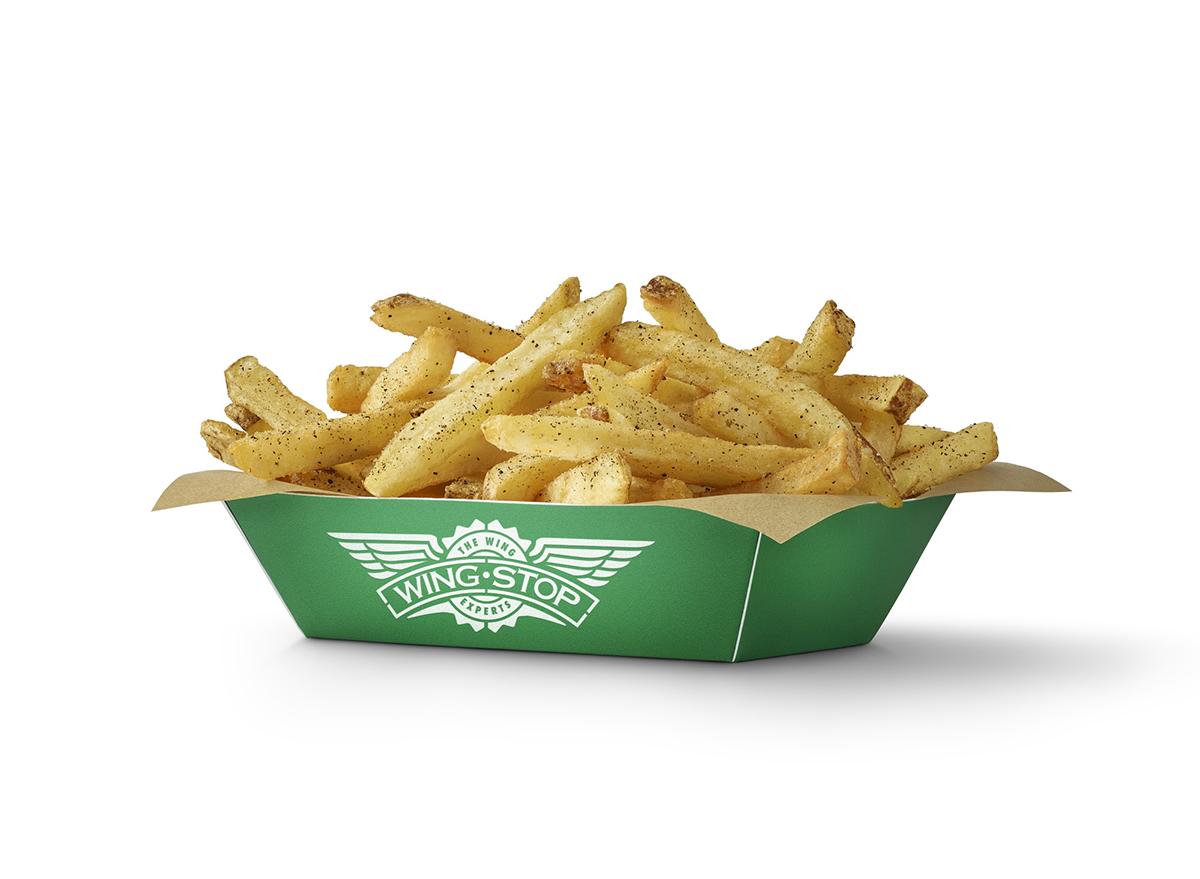seasoned fries at wingstop