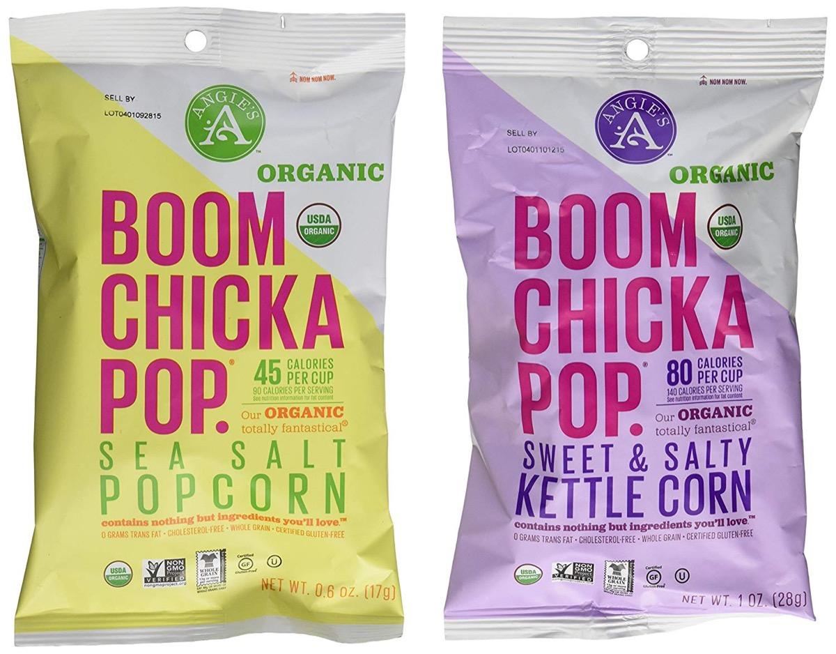 boom chicka pop, peanut free preschool snacks