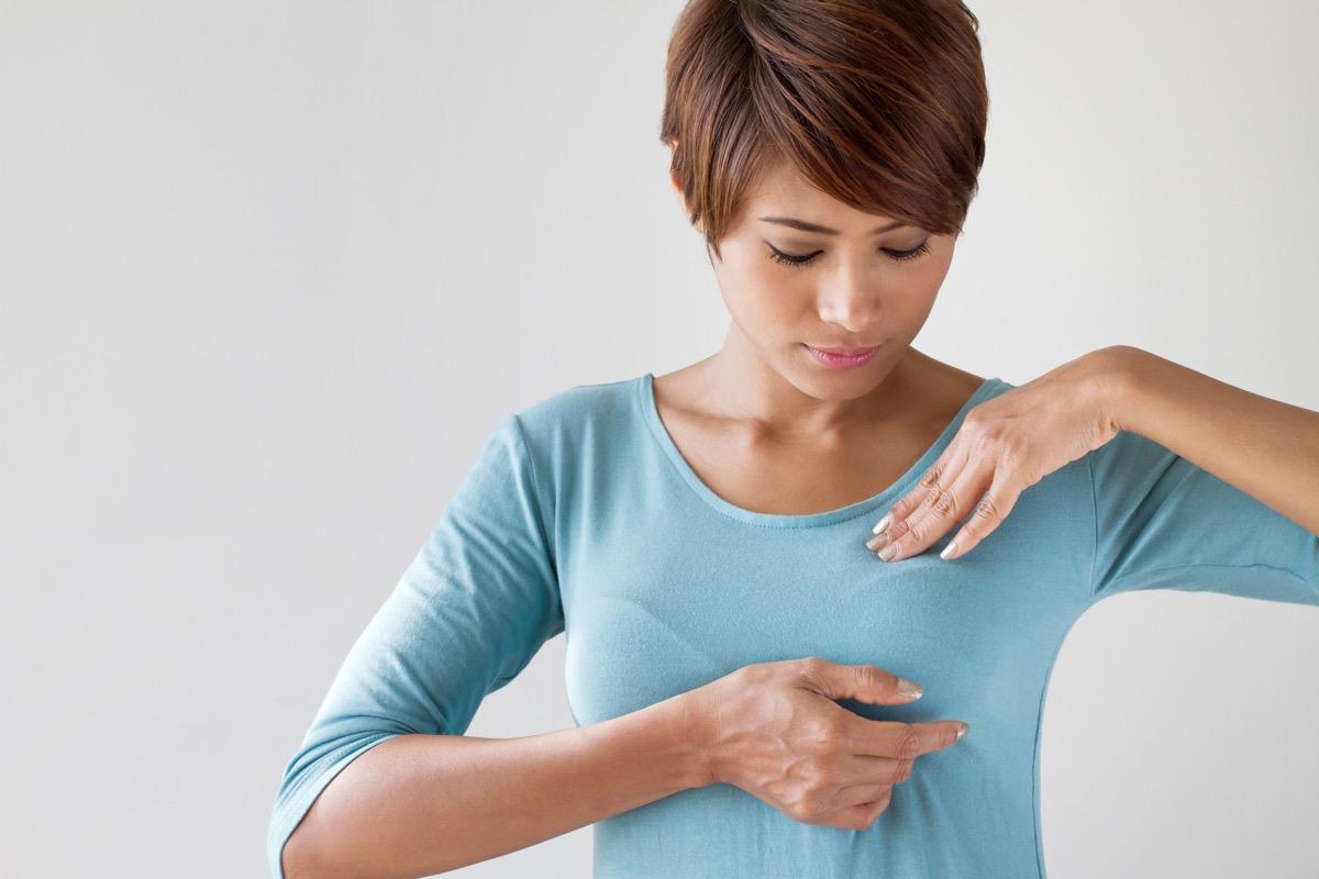 Breast cancer self check