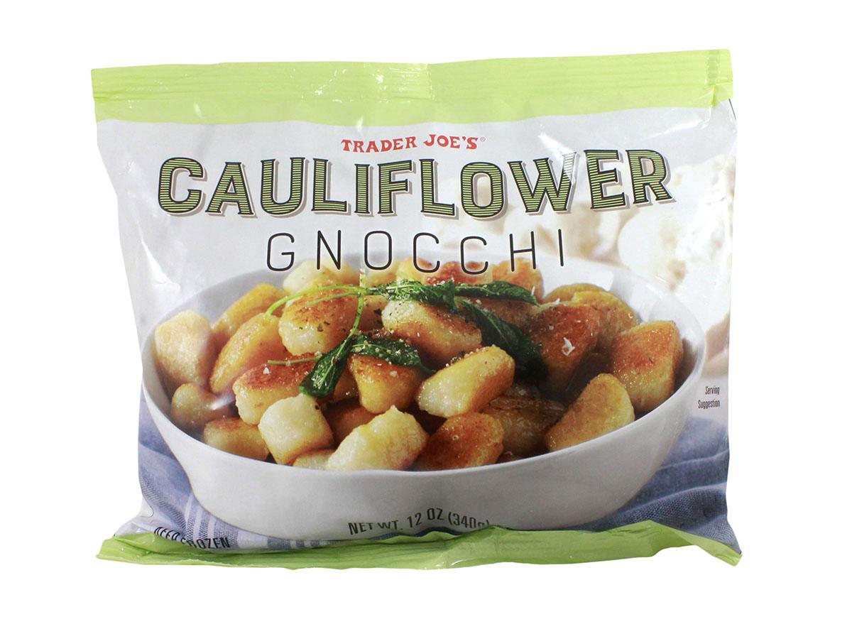 cauliflower gnocchi from trader joe's